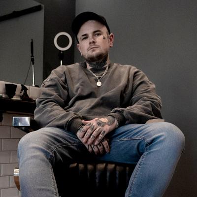 Aidan, Barber at Black Lotus Barbers