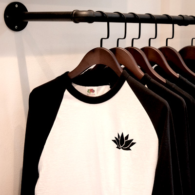Our barber shop has an exclusive range of Black Lotus Barbers apparel available to buy in-store