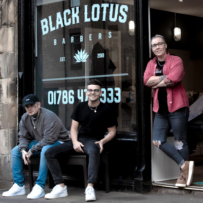 Black Lotus Barbers, Stirling offers Children's Haircuts, Male Grooming, Women's Barbering, Beard Trimming & Skin Fades